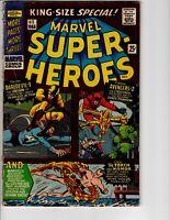 Marvel Super-Heroes #1 Comic Book 1966 Daredevil Iron Man Hulk King Size Special
