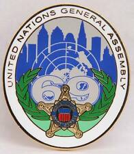 USSS Secret Service Hat Lapel Pin 2014 UNGA 69 United Nations General Assembly