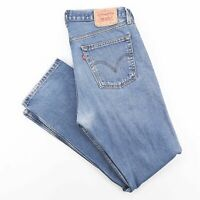 Vintage LEVI'S 581 06  Blue Denim Regular Straight Jeans Mens W36 L34
