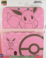 Pocket Monsters Eevee Protect Case Cover Japan for New Nintendo 3DS XL