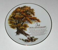 """Avon 5th Anniversary """"The Great Oak"""" Collector Plate"""