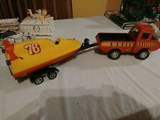 Vintage pressed steel tonka toy trucks
