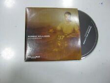 ROBBIE WILLIAMS CD U.K. SONGBOOK 2009 PROMO
