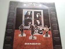 "Jethro Tull - Benefit LP Chrysalis White ""i"" 1st Press ILPS9123 A//2 B//1 Vinyl"