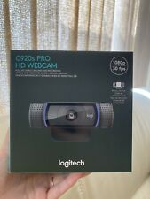 Logitech C920s Pro HD 1080p Webcam with Privacy Shutter *IN HAND* ships fast