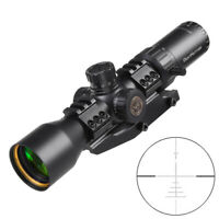 WESTHUNTER WT-F 3-12X44 FFP Compact Scope First Focus Plane Hunting Rifle Scope