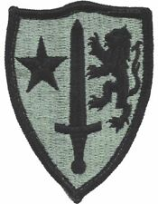 Allied Command In Europe ACU Patch with Fastener (PV-ALLIED)