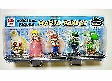 Mario Family Original Figure 5 Body Set Super Brothers Club Nintendo Point F/S