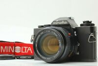 【MINT】 MINOLTA XD Late Model SLR Film Camera MC 50mm f/1.4 MF Lens From Japan