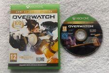 OVERWATCH ORIGINS EDITION ( GOTY ) XBOX ONE V.G.C. FAST POST ( online FPS game )