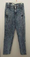 Mens Vintage GRAFFITI BLUES Stone Wash Denim Jeans ~ 31 x 32