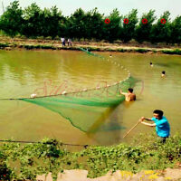 Hand Made Beach seine/ Drag Nets Or Can Customize