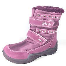Primigi Gore-Tex Girls Size 33 Pink Winter Boots.