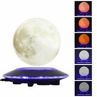 Magnetic Levitation Moon Lamp Globe Night Light Floating 3D Moon LED Table Lamp!