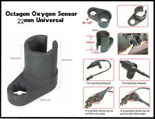 Professional Car SUV 22mm 1/2'' Oxygen Sensor Socket Wrench Offset Removal Tool