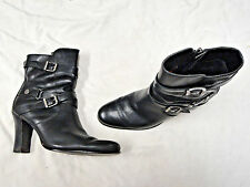 Harley-Davidson black leather boot   Size 10  Buckle Accents