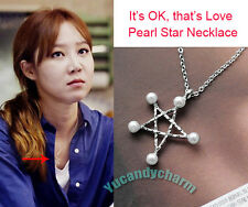 Made in Korea Korean TV It's Okay That's Love Pearl Star Necklace Gong Hyo-jin
