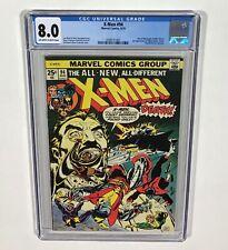 X-MEN #94 CGC 8.0 KEY! (New X-MEN begin! 2nd apps of many!) Aug.1975 Marvel