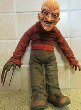 "2007 Freddy "" A Nightmare On Elm Street "" 12"" Vortex Plush Doll Figure / HTF"
