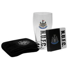 Newcastle United Mini Set Bar Pinta Bar Towel 4 BEER MATS