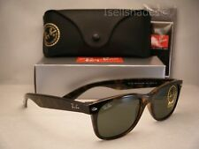 470fdeacb39 Ray Ban NEW WAYFARER (RB2132-902L 55) Tortoise with Crystal Green Lens