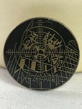 Def Leppard Round Pin Pinback 80s Vintage Enamel Badge