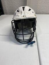 Cascade  Men's White Lacrosse Helmet Adjustable OSF Medium/large Bb1