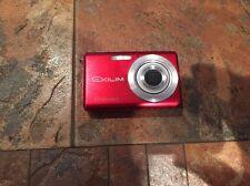 Casio EXILIM ZOOM EX-Z75BK 7.2 MP Digital Camera - Red