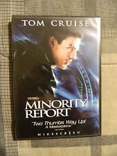 Minority Report (Dvd, 2002, 2-Disc Set, Widescreen, Tom Cruise, Steven Spielberg