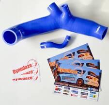 Dynodaze Rendimiento Mitsubishi Colt Czt, Kit de manguera de admisión de Silicona Ralliart Azul
