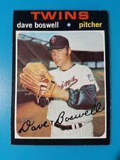 1971 TOPPS BASEBALL HIGH #675 DAVE BOSWELL EXMT VINTAGE