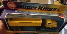 Matchbox Super Kings Ford LTS Articulated Tipper Stainless Steel CorpK-18 SEALED