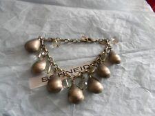 Premier Designs CHARISMA gold acrylic bead bracelet RV $49 free ship nwt