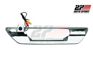 REVERSE CAMERA BACK REAR CAMERA WITH CHROME COVER FOR TOYOTA HILUX REVO ROCCO