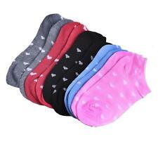 5 Pairs Fashion Women Girls Casual Cotton Sports Socks Heart Low Cut Soft Socks