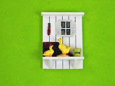 Miniature Ducks on Windowsill for Fairy Gardens by Mowbray Miniatures (1 pc)