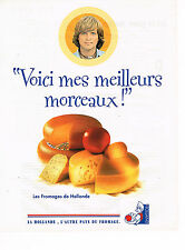 PUBLICITE ADVERTISING 045  1996  HOLLAND 2 fromages DAVE