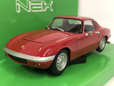 Lotus Elan Red 1965 1:24 Scale Welly 24035R NEW