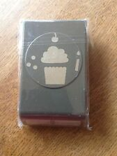 Stampin up CUPCAKE BUILDER  Punch New Retired Candle Cherry