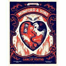#/200 OKLAHOMA CITY 2019 MUMFORD & SONS Print Concert Poster Delta Tour OKC