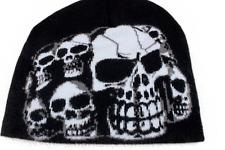 Bonnet mixte Homme-Femme-100% acrylique (Tête Mort)(Na)