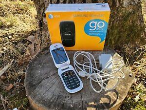 Samsung SGH-A197 Flip Phone Black (AT&T) Go Phone