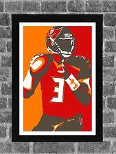 Tampa Bay Buccaneers Jameis Winston Sports Print Art 11x17