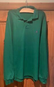 Mens Ralph Lauren Long Sleeved Polo Shirt, Size Large
