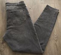 """Michael Kors Women's Plus Size 10 Jeans 32"""" Inseam Black Color"""
