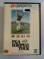 PGA EUROPEAN TOUR - GENESIS - COMPLETE W/ MANUAL - FREE S/H - (G2)