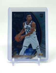 Donovan Mitchell 2017-18 Panini Select Concourse Rookie #11 RC Utah Jazz