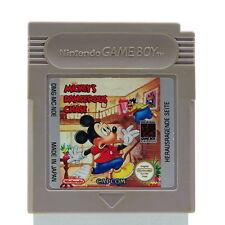 GameBoy | Mickey's Dangerous Chase | Nintendo Game Boy GB Spiel Capcom