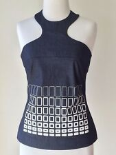 INK denim halter top size 8 New With Tag