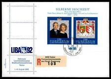 """LIECHTENSTEIN - BF - 1992 - """"Liba '92"""". Esposizione filatelica nazionale - (MR)."""